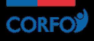 Logo Corfo con complemento gob